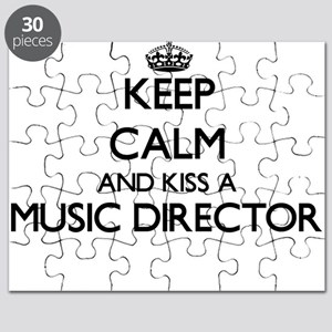 Keep calm and kiss a Music Director Puzzle