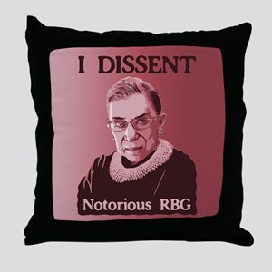 Notorious RBG -p Throw Pillow