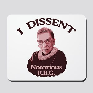 Notorious RBG -p Mousepad