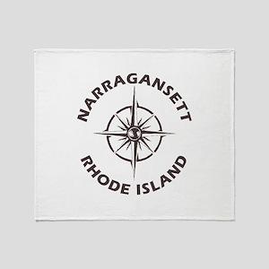 Rhode Island - Narragansett Throw Blanket