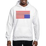 Upsidedown Flag #1 Hooded Sweatshirt