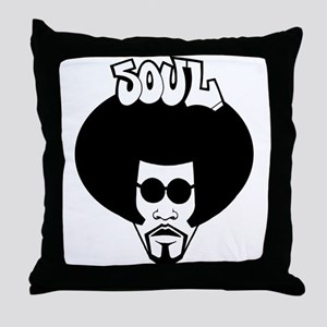 Soul Brother Throw Pillow