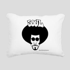 Soul Brother Rectangular Canvas Pillow