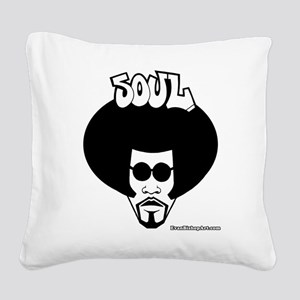 Soul Brother Square Canvas Pillow