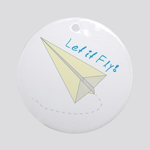 Let It Fly! Ornament (Round)