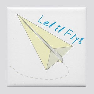 Let It Fly! Tile Coaster