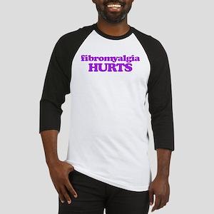 Fibromyalgia Hurts Baseball Jersey