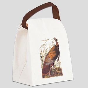 Audubon Wild Turkey Canvas Lunch Bag