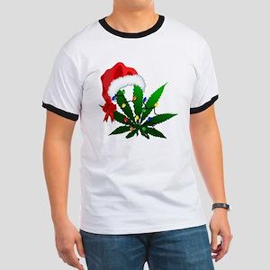 Weed Holiday Tree T-Shirt