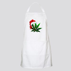 Weed Holiday Tree Apron
