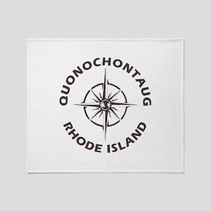 Rhode Island - Quonochontaug Throw Blanket