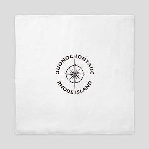 Rhode Island - Quonochontaug Queen Duvet