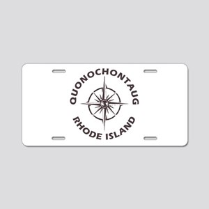Rhode Island - Quonochontau Aluminum License Plate