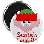 Santas Favorite Little Elf Magnets