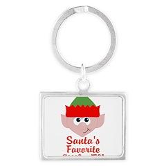 Santas Favorite Little Elf Keychains