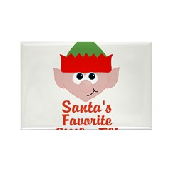 Santas Favorite Little Elf Magnets