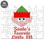 Santas Favorite Little Elf Puzzle