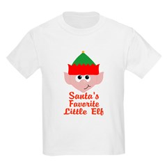 Santas Favorite Little Elf T-Shirt