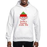 Santas Favorite Little Elf Hoodie