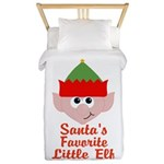 Santas Favorite Little Elf Twin Duvet