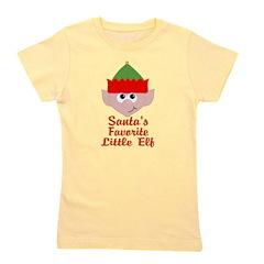 Santas Favorite Little Elf Girl's Tee
