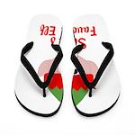 Santas Favorite Elf Flip Flops