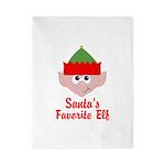 Santas Favorite Elf Twin Duvet