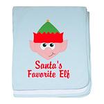 Santas Favorite Elf baby blanket