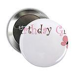 Birthday Girl Pink Butterfly 2.25