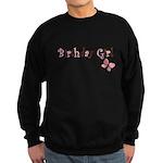 Birthday Girl Pink Butterfly Sweatshirt