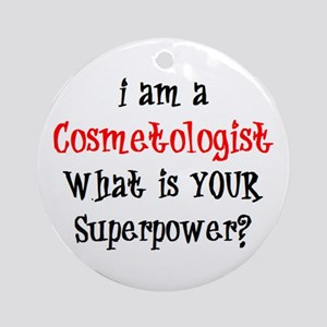cosmetologist Ornament (Round)