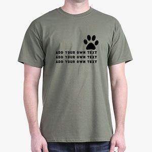 Dog's paw Dark T-Shirt