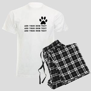 Dog's paw Men's Light Pajamas