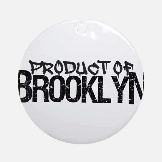 Product of Brooklyn Ornament (Round)
