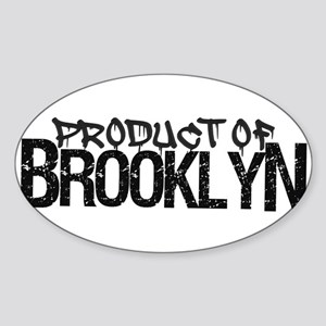Product Of Brooklyn Sticker