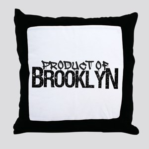 Product of Brooklyn Throw Pillow