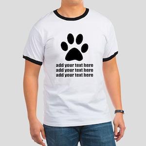 Dog's paw Ringer T