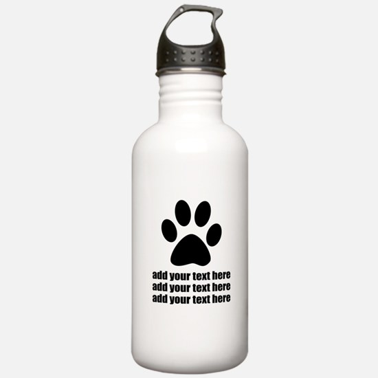 Dog's paw Sports Water Bottle