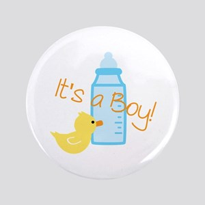"Its a Boy 3.5"" Button"