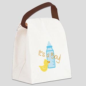 Its a Boy Canvas Lunch Bag