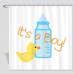 Its A Boy Shower Curtain