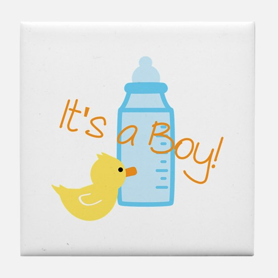 Its a Boy Tile Coaster