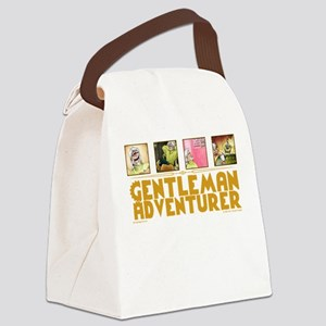 Gentleman Adventurer Canvas Lunch Bag