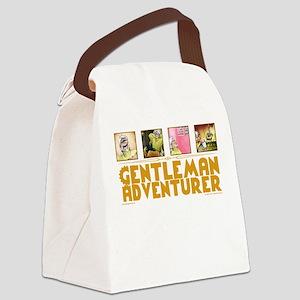 Gentleman Adventurer Canvas Lunch Bag