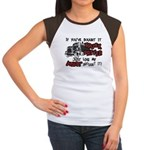 A Truck Driver Like My Aunt Women's Cap Sleeve T-S