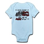 A Truck Driver Like My Aunt Infant Bodysuit
