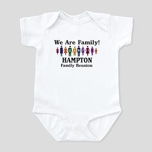 HAMPTON reunion (we are famil Infant Bodysuit