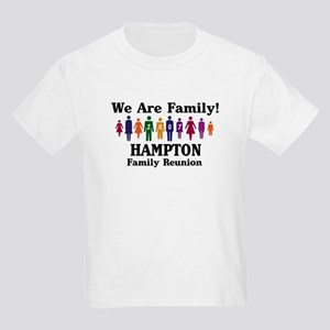 HAMPTON reunion (we are famil Kids Light T-Shirt