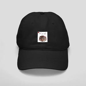 LOVE MY CAT Black Cap