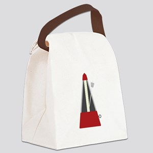Musical Metronome Canvas Lunch Bag